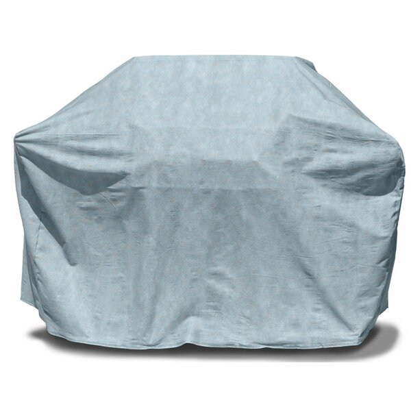 All-Seasons 55 BBQ Grill Cover with Shelves by Budge Industries
