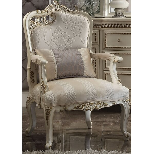 Caiden Arm Chair with Pillow by Rosdorf Park