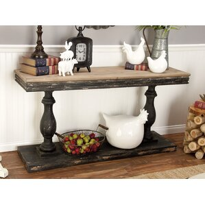 Wood Console Table by Cole..