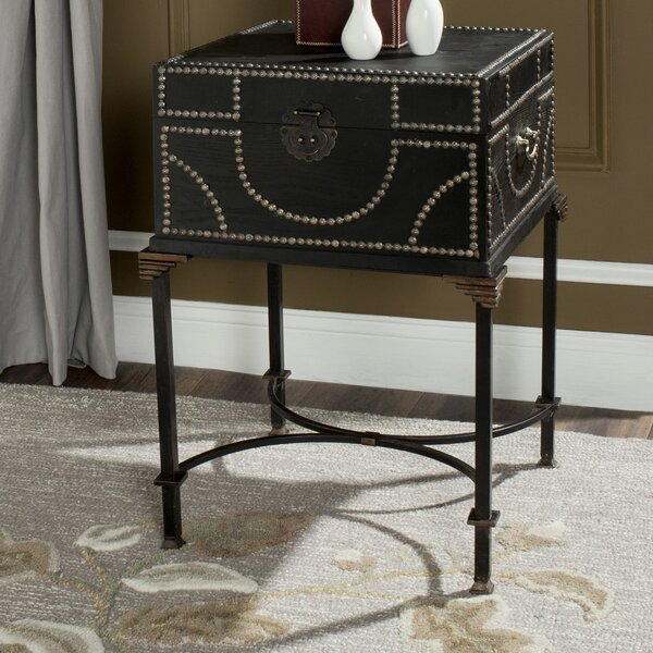 Dasheil Side End Table by Alcott Hill