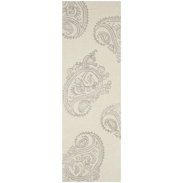 Shillington Hand-Tufted Ivory/Beige Area Rug by Darby Home Co