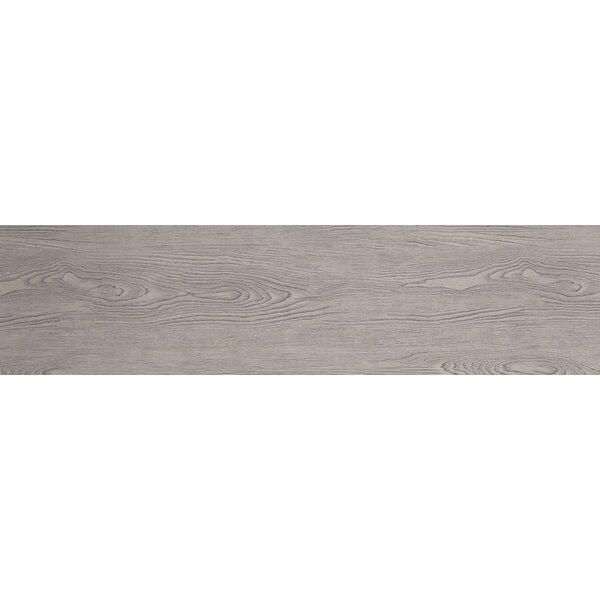 Alpine 6 x 36 Porcelain Wood-Look Plank Tile in Foam by Emser Tile