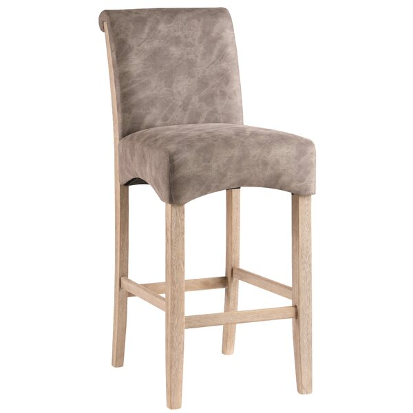 Olive Wattrelos 29.92 Bar Stool (Set of 2) by Mistana