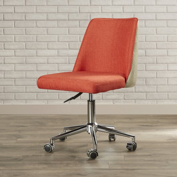 Varda Low-Back Desk Chair by Mercury Row