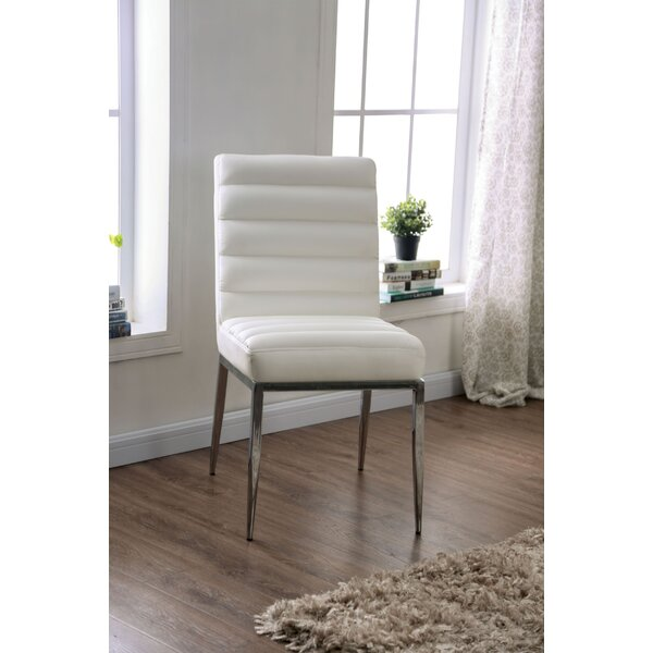 Quellenhof Upholstered Dining Chair (Set of 2) by Wrought Studio Wrought Studio