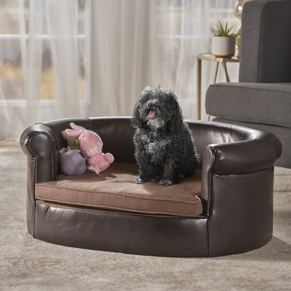 Desmond Leather Dog Sofa by Tucker Murphy Pet