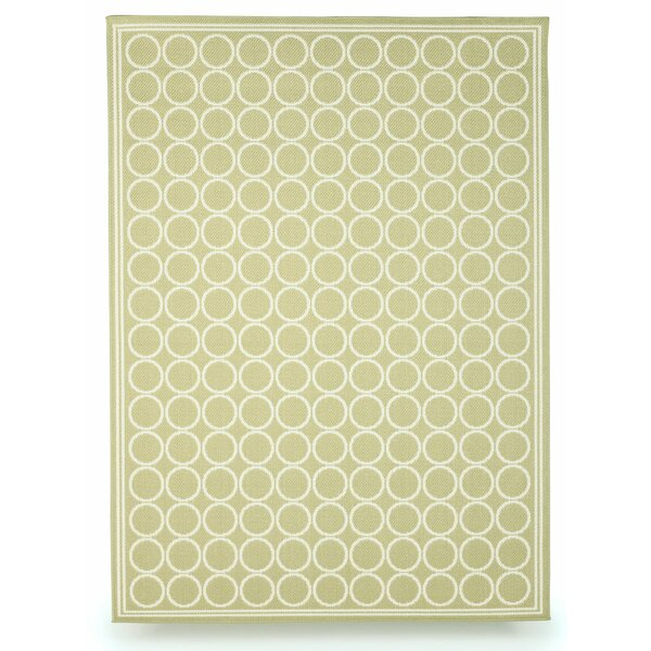 Shelbourne Sage Green Indoor/Outdoor Area Rug by Budge Industries