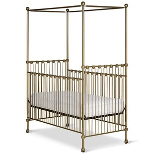 Inexpensive Straight Canopy Crib ByCorsican