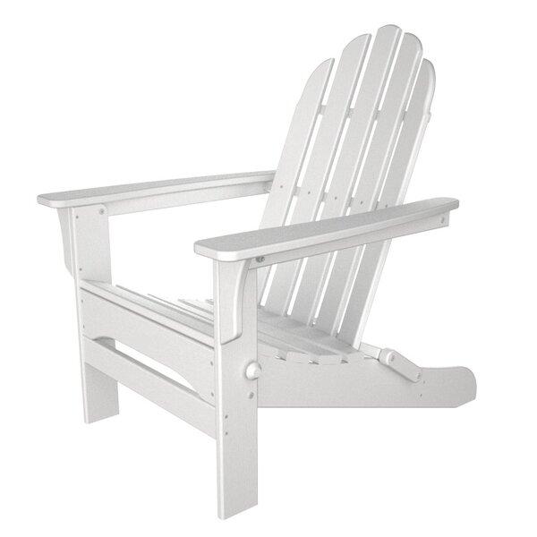 Osgood Folding Adirondack Chair by Beachcrest Home