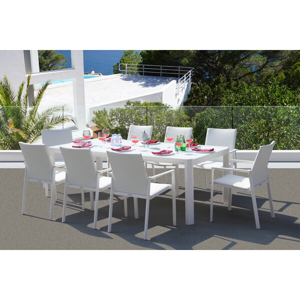 Montalto 9 Piece Dining Set by Latitude Run