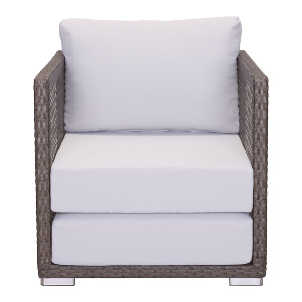 Baca Arm Chair with Cushions by Brayden Studio