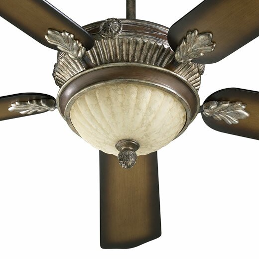 52 Galloway 5-Blade Ceiling Fan with Remote by Quorum