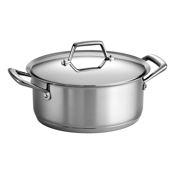 Gourmet Prima 5 Qt. Round Dutch Oven with Lid by Tramontina
