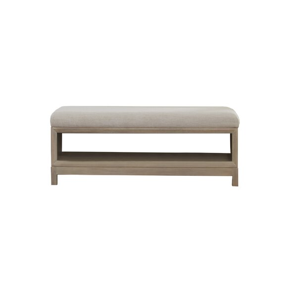 Boca Grande Upholstered Storage Bench by Panama Jack Home