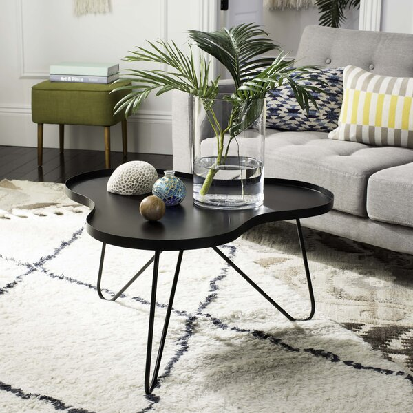 Delphi Coffee Table with Tray Top by Ivy Bronx