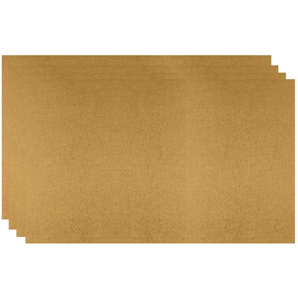 Cresswell Metallic Placemat (Set of 4) by Alcott Hill