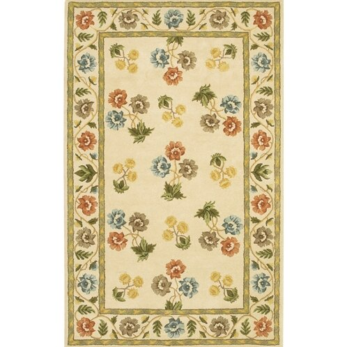 Helmetta Cream Rug by August Grove