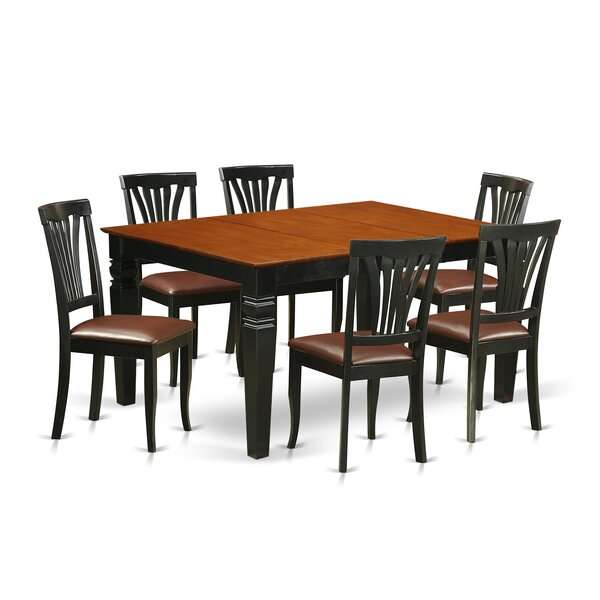 Arlen 7 Piece Dining Set by Darby Home Co