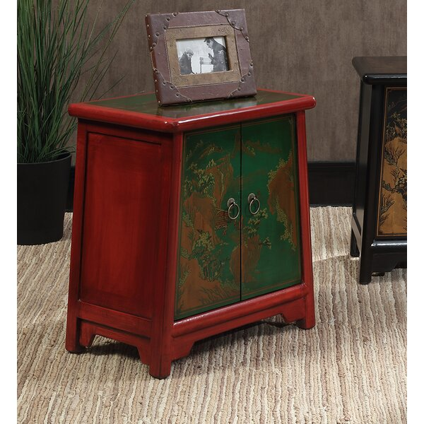Raiden End Table by World Menagerie