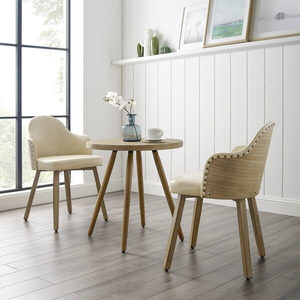 Lindbergh 3 Piece Dining Set by Union Rustic
