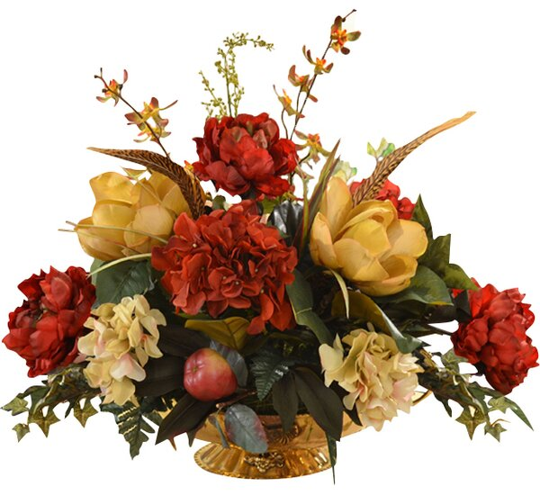 Mixed Centerpiece in Decorative Vase by Floral Hom