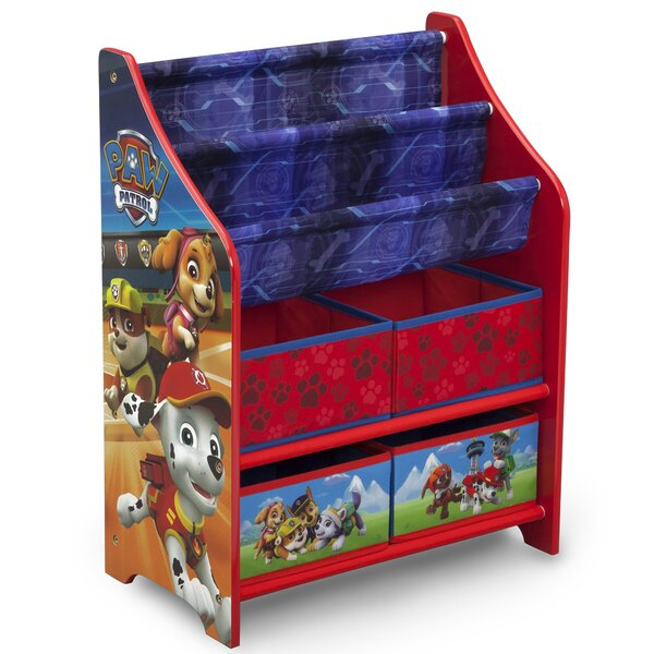 Nick Jr Paw Patrol Toy Organizer By Delta Children.