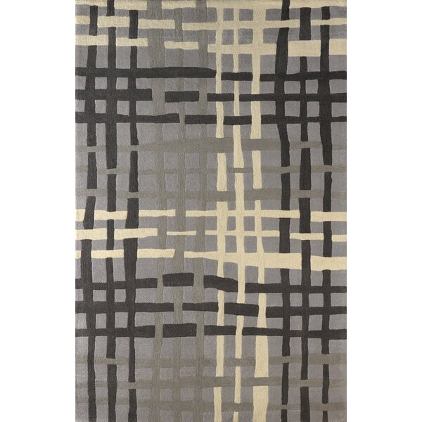 Courtney Hand-Tufted Steel Area Rug by Latitude Run