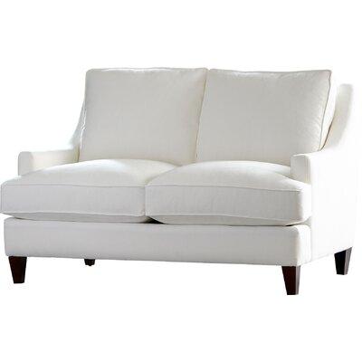 Tremendous Larson Loveseat Birch Lane Heritage Body Fabric Classic Khaki Cjindustries Chair Design For Home Cjindustriesco