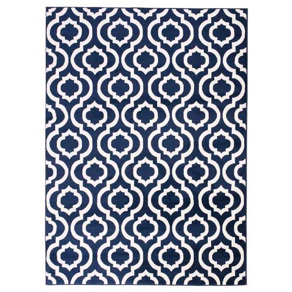 Buchan Navy Area Rug by Charlton Home