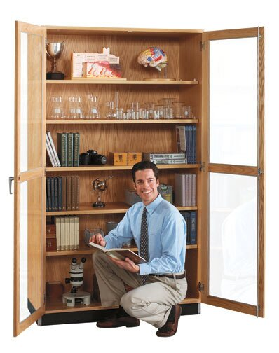 Hinged 2 Door Storage Cabinet by Diversified Woodcrafts