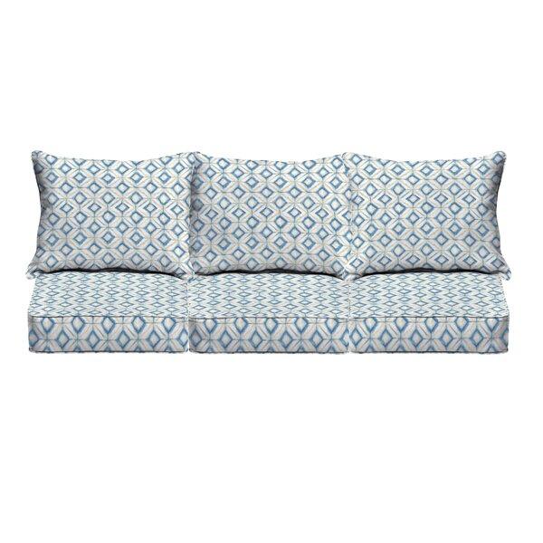 Indoor/Outdoor Sofa Cushion by Wrought Studio