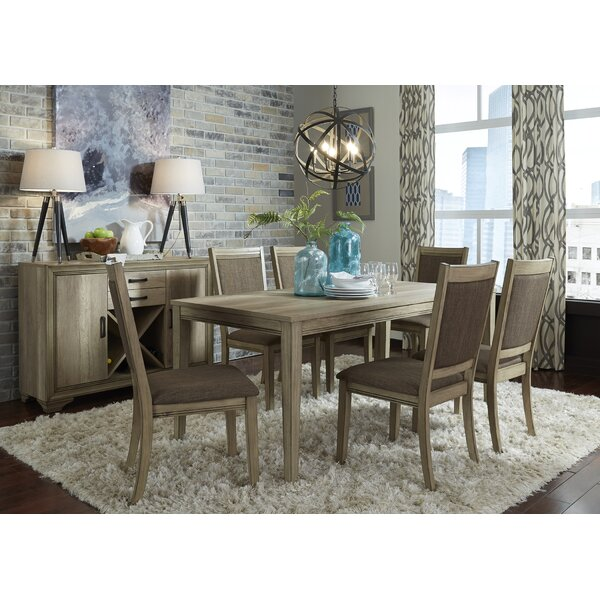 Loggins 7 Piece Dining Set by Gracie Oaks