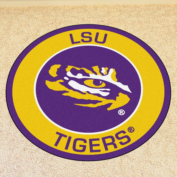 NCAA Louisiana State University Roundel Mat by FANMATS