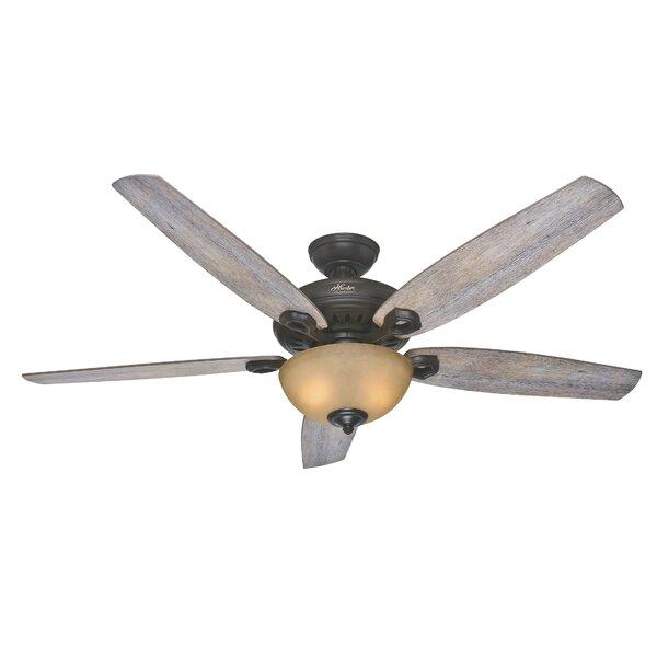 60 Valerian 5-Blade Ceiling Fan by Hunter Fan