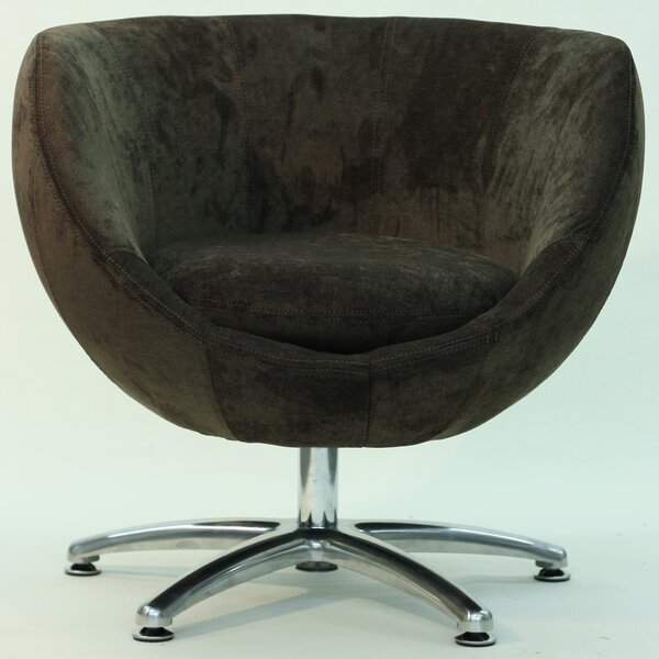 Overman Swivel Barrel Chair by Fox Hill Trading