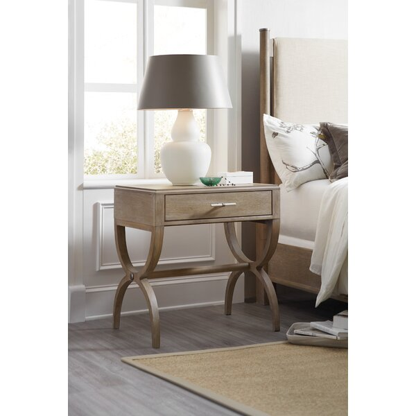 Affinity Leg 1 Drawer Nightstand by Hooker Furniture