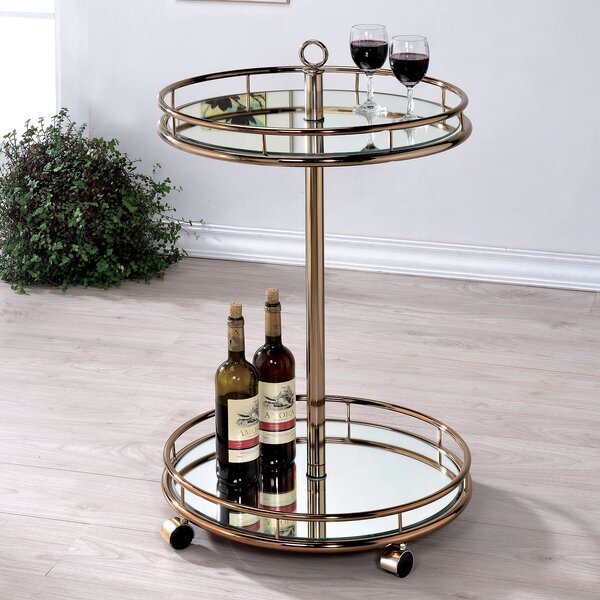 Kole Bar Cart by Willa Arlo Interiors Willa Arlo Interiors
