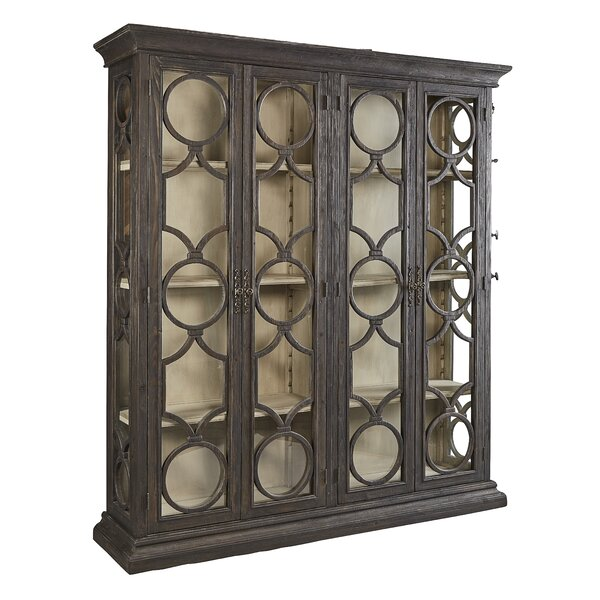 Aryanna Double Curio Cabinet by One Allium Way