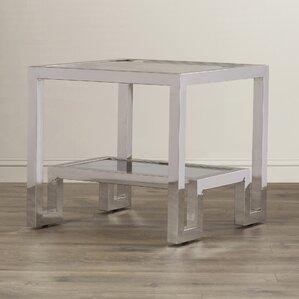 Ikon Storm End Table by Sunpan Modern