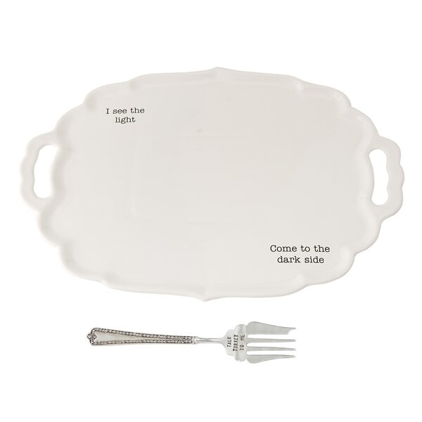 Thanksgiving Turkey 2 Piece Platter Set by Mud Pie™