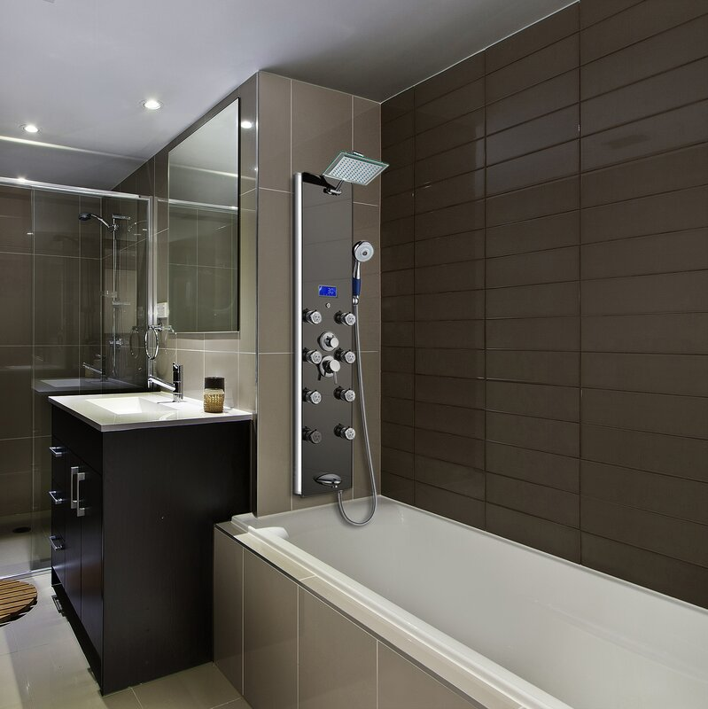 AKDY Tower Rainfall Shower Diverter/Thermostatic & Reviews