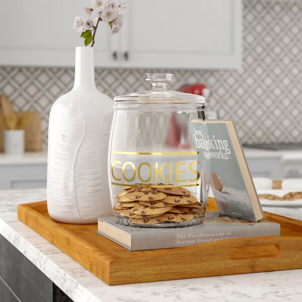 4.44 qt. Cookie Jar by Charlton Home
