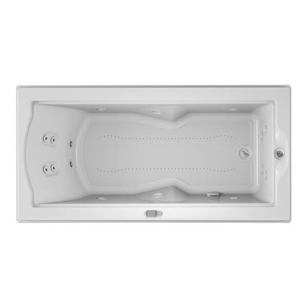Fuzion Chroma LCD Right-Hand 72 x 36 Drop-In Salon Bathtub by Jacuzzi®