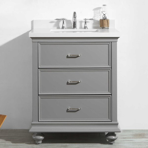 Vaughn 30 Bathroom Vanity Set by Alcott Hill