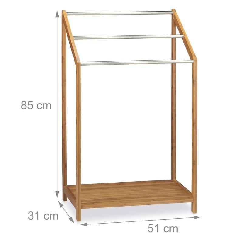 relaxdays freistehender handtuchhalter bewertungen. Black Bedroom Furniture Sets. Home Design Ideas