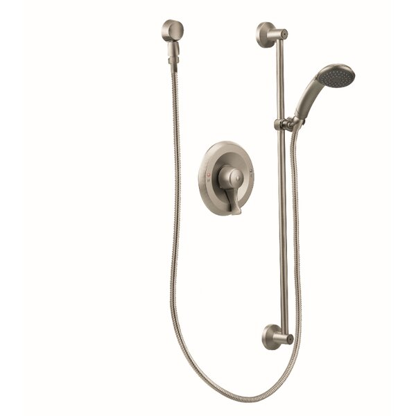 Commercial Shower Faucet with Valve and Lever Handle by Moen