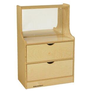 Best Reviews Kempton Dresser Vanity Table with Mirror ByZoomie Kids
