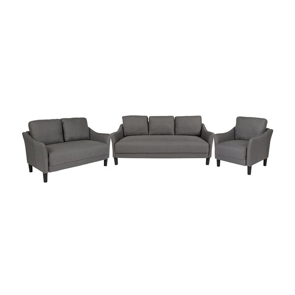 Laforest 3 Piece Living Room Set by Ebern Designs
