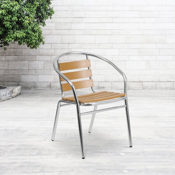 Perrytown Stacking Patio Dining Chair by Zipcode Design