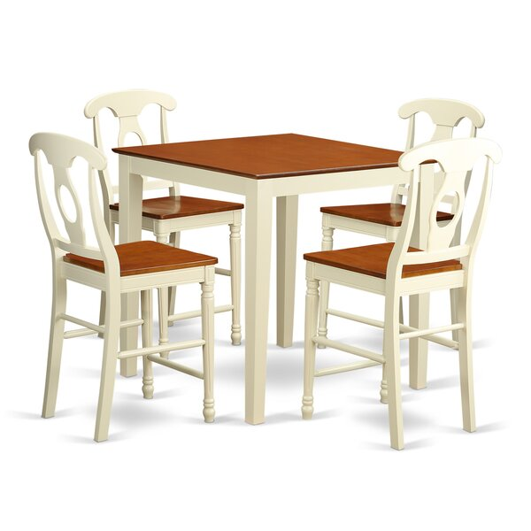 Given 5 Piece Pub Table Set by Charlton Home